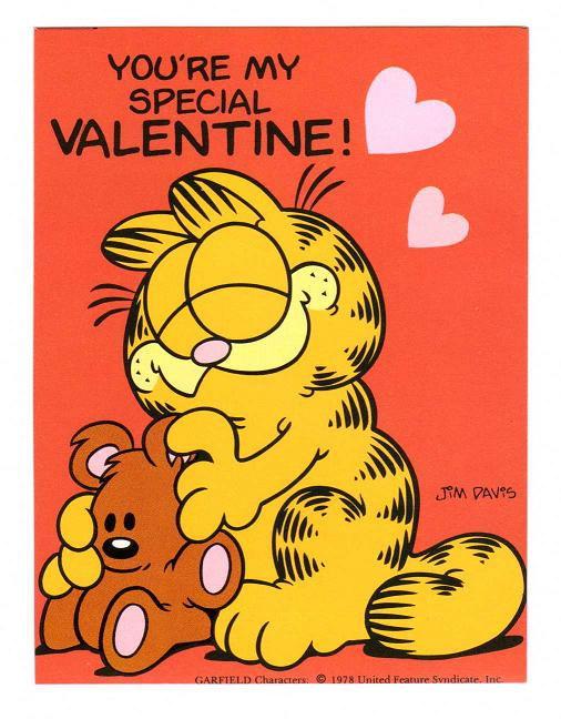 Garfield Valentines